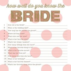 Easy Hen Party Game | Hen Party Ideas | The Hen Planner