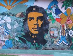 Tonight I searched the web for beautiful street art from Cuba. This is what I came up with. Cuba Tours, Mexican Cocktails, Cuba Street, Atlanta Police, Che Guevara, Cuban Art, Outdoor Movie Screen, West Coast Road Trip, Street Dance