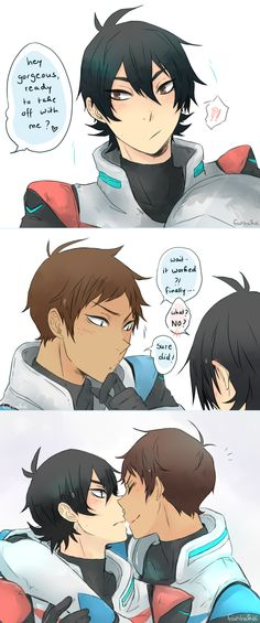 Lance and Keith. x33 <3<3<3