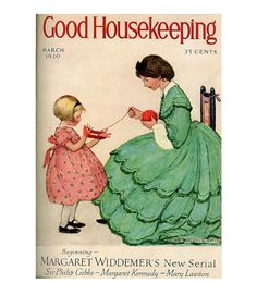 Good Housekeeping magazine cover, March 1930 Jessie Willcox Smith