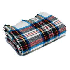 Dress Stewart Tartan Wool Blanket