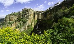 Ronda, Spain.   Three incredibly dramatic stone bridges span the 100-meter-deep El Tajo canyon upon which the city is built. Ronda's played host to many cultural heavyweights, including Ernest Hemingway, who indulged his love for bullfighting while residing in the old quarter. Photo: Antonio Casas