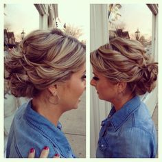 Updo and highlight lowlight!! gorgeous and done by my best friend katelyn!!!