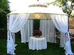 Outdoor wedding gazebo decorations my wedding pinterest there are plenty of backyard gazebo decor ideas to enhance the looking and relaxing feeling of gazebos gazebo decor diy projects are very interesting and junglespirit Image collections
