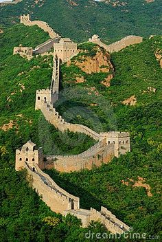 The Great Wall of China - a true treasure Is it possible to walk the entire wall? Description from pinterest.com. I searched for this on bing.com/images Places Around The World, Travel Around The World, Around The Worlds, Places To Travel, Places To See, Beautiful World, Beautiful Places, Amazing Places, Great Wall Of China