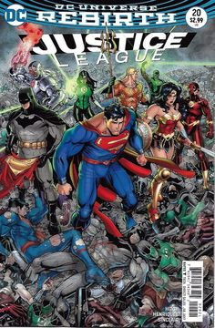 DC Justice League Universe Rebirth comic issue 20 Limited variant