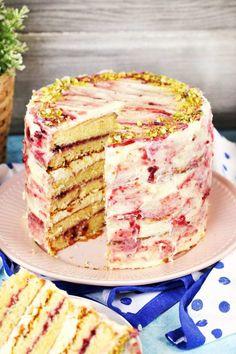 Ez a 7 legdögösebb tortánk Cold Desserts, Delicious Desserts, Desert Recipes, Cakes And More, No Bake Cake, Vanilla Cake, Cupcake Cakes, Food To Make, Cake Recipes