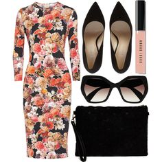 A fashion look from May 2015 featuring Givenchy dresses and Prada sunglasses. Browse and shop related looks.