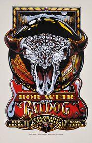 RATDOG - BOB WEIR - 2014 - RED ROCKS - DENVER - OGDEN -  AJ MASTHAY - PHIL LESH