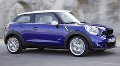 Mini Paceman nominée pour la plus belle voiture de l'année 2012