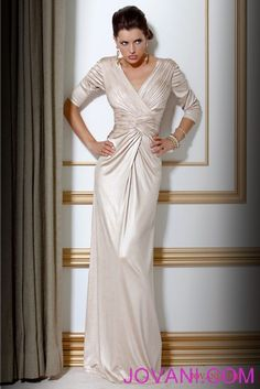 Gathered Long Gown, Style B83