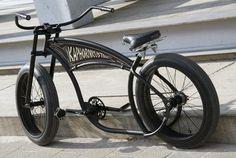 KapHornKustom Basman 03 | KapHornKustom Custom Beach Cruiser, Beach Cruiser Bikes, Cruiser Bicycle, Custom Cycles, Custom Bikes, Velo Cargo, Wood Bike, Push Bikes, Lowrider Bike