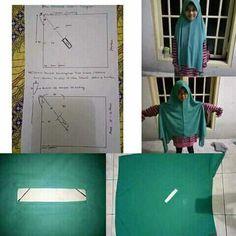 Abaya Fashion, Hijabs, Plaid Skirts, Fashion Sewing, Baby Sewing, Scarf Styles, Shawl, Sewing Projects, Sewing Patterns