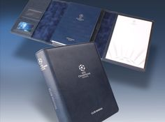 UEFA Champions League Competition Club Manual - a creative packaging solution produced by Cedar Packaging