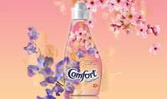Comfort Cherry blossom and sweet pea - summer edition