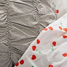 Cherry on Top Bedding | The Land of Nod