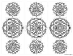 Shop for bookmark on Etsy, the place to express your creativity through the buying and selling of handmade and vintage goods. Mandala Coloring, Adult Coloring Pages, Crafts For Teens, Bookmarks, Yoga Classes, Henna Mehndi, Doodle Art, Creative, Fun