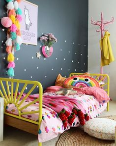 Girl room decoration DIY girl room decoration ideas tween 10 years old little to. Girl room decoration DIY girl room decoration ideas tween 10 years old little toddler Decorating Toddler Girls Room, Diy Room Decor For Girls, Toddler Rooms, Kid Rooms, Kids Decor, Toddler Bedroom Ideas, Cool Kids Rooms, Room Kids, Baby Decor
