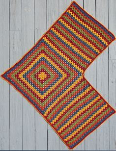 Easy Granny Shawl & Ruana & Treble Crochet Hat pattern - -Mainly ...