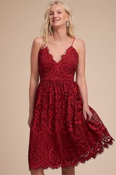 ebe8cc66cfe Tate Dress from BHLDN Red Wedding Decorations
