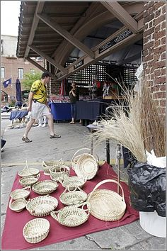 The Market in Charleston, SC....great day shopping in Charleston