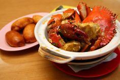 Butter Crab with Fried Buns