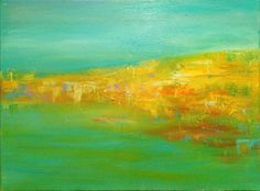 "Saatchi Online Artist Heather Baudet; Painting, ""Coastal Abstraction"" #art"