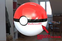 Personalized Pokemon Go PLUS Ball- 3D Hi quality with included Pokemon Go Nickname 48 Shipping   Personalized Pokemon Go PLUS Ball- 3D Hi quality with included Pokemon Go Nickname. The product is 3D printed PPE ball, painted with hi quality paint by Maltese Artist. Your Pokemon Go nickname will be hand painted in the ball. Its ideal for present and personal collection.