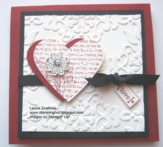 Laurie's Stampin' Spot: Punch Potpourri Post it Note Holder w/ Instructions