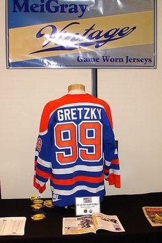 Wayne Gretzky game jersey Wayne Gretzky, Edmonton Oilers, Ice Hockey, Nhl, Earth, Game, Places, Sports, Hs Sports