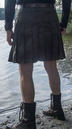 Kilt and boots