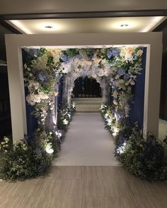 49 breathtaking wedding decor for spring 18 Wedding Walkway, Wedding Entrance, Wedding Mandap, Entrance Decor, Wedding Chairs, Table Wedding, Party Wedding, Light Wedding, Wedding Bride