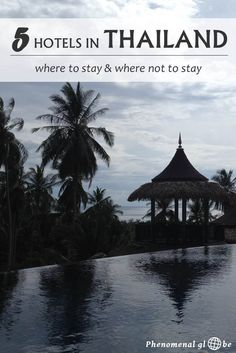 10 days in Thailand, 8 nights in 5 different hotels. Read where (not) to stay and how much these hotels in Bangkok, Surat Thani and Koh Tao cost.