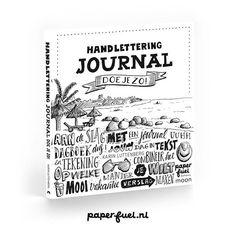 LABEL123 - Paperfuel Handlettering journal doe je zo!