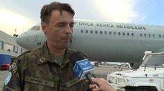 Boeing C-767 da FAB faz primeira missão de ajuda humanitária