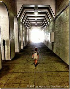 Birmingham Alabama Downtown Tunnel. So beautiful and eery.