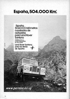 Land Rover Santana, Adventure Company, Land Rover Defender, Range Rover, 4x4, Volkswagen, Jeep, Classic Cars, Garage