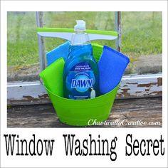 Get the secret to REALLY clean windows-It's soooooo cheap!