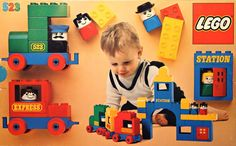 A Duplo set released in 1977.
