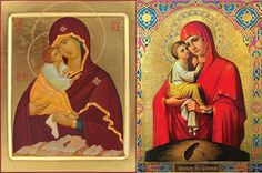 Troparion, Kontakion and the story of the icon of the Mother of God of Pochaev