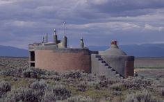 Nautilus Earthship House, Taos, New Mexico