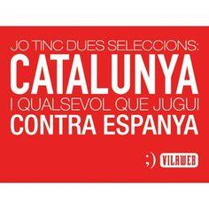 Catalunya contra Espanya. Independència!