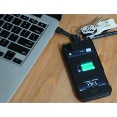 Anahtarlık Şeklinde Cep Telefonu Şarj Aleti - ChargeKey