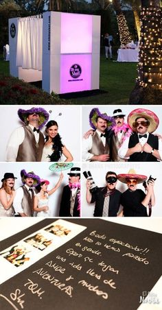 Photo booth en la boda | El Blog de una Novia