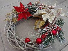 Dekorácie - venček vianočný - 4687570_