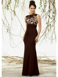 Mermaid Lace Bateau Floor-length Chiffon Mother of the Bride Dresses