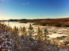 Lac Sacacomie Canada Canada, Spaces, Mountains, Nature, Travel, Naturaleza, Viajes, Destinations, Traveling