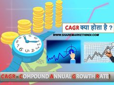 CAGR COMPOUND ANNUAL GROWTH RATE SHAREMARKETHINDI.COM