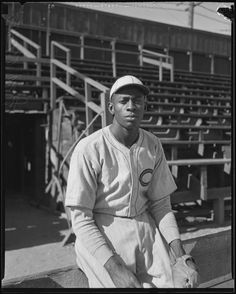 Here's a photo from the wonderful collection of four photos of Satchel Paige, taken by a Los Angeles Times photographer on November 12, 1933. The location is White Sox Park, on 38th St. and Compton Ave. in South Los Angeles. Satch was playing for the Royal Giants, a team made up of players largely from the Negro Leagues. (Courtesy of the Los Angeles Times Photographic Archive, UCLA Library) (via Terry Cannon from the Institute for Baseball Studies)