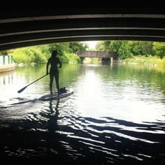City SUP | Stand Up Paddle | River SUP | Madison, Wisconsin